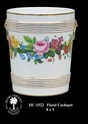 Jeanne Reed's - Floral Cachepot