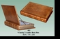 """Jeanne Reeds - """"Charing"""" Leather Book Box"""