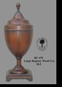 Jeanne Reeds - Large Regency Wood Urn