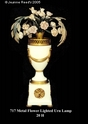 Jeanne Reed's - Lamp - metal flowers