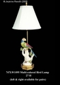 Jeanne Reed's - Lamp - Multi-colored Bird **