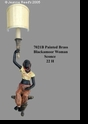 Jeanne Reed's - Sconce - Blackamoor - Woman
