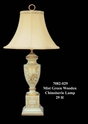 Jeanne Reed's - Mist Wood Chinoiserie Lamp