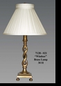 "Jeanne Reed's - ""Windsor"" Brass Lamp"