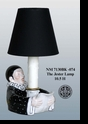 "Jeanne Reed's - ""The Jester"" Lamp - Black"