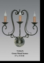 Jeanne Reed's - Iron Sconce - Green
