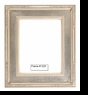 Picture Frames - Oil Paintings & Watercolors - Frame Style #1225 - 16X20 - Silver