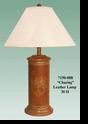 "Jeanne Reed's - ""Charing"" Leather Lamp"