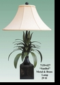 "Jeanne Reed's - ""Sanibel"" Metal Lamp"