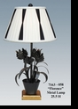 "Jeanne Reed's - ""Florence"" Metal Lamp"