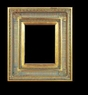Art - Picture Frames - Oil Paintings & Watercolors - Frame Style #607 - 12x16 - Antique Gold - Ornate Frames