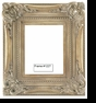 Picture Frames - Oil Paintings & Watercolors - Frame Style #1227 - 16X20 - Silver