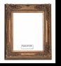Picture Frames - Oil Paintings & Watercolors - Frame Style #1229 - 24X36 - Dark Gold