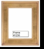 Picture Frames - Oil Paintings & Watercolors - Frame Style #1230 - 16X20 - Traditional Gold
