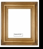 Picture Frames - Oil Paintings & Watercolors - Frame Style #1233 - 8X10 - Traditional Gold