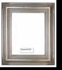Picture Frames - Oil Paintings & Watercolors - Frame Style #1234 - 8X10 - Silver