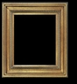 Art - Picture Frames - Oil Paintings & Watercolors - Frame Style #602 - 36x48 - Antique Gold - Gold  Frames