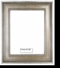Picture Frames - Oil Paintings & Watercolors - Frame Style #1236 - 8X10 - Silver