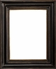 Wall Mirrors - Mirror Style #395 - 12x24 - Black & Gold