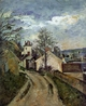 Art - Oil Paintings - Masterpiece #4012 - Paul Cezanne - The House of Dr Gachet in Auvers - Gallery Quality
