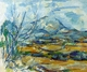 Art - Oil Paintings - Masterpiece #4015 - Paul Cezanne - Montagne Sainte-Victoire - Gallery Quality