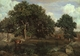 Art - Oil Paintings - Masterpiece #4019 - Jean Baptiste Camille Corot - Forest of Fontainebleau - Gallery Quality