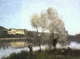 Art - Oil Paintings - Masterpiece #4023 - Jean Baptiste Camille Corot - Ville d'Avray - Gallery Quality