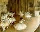 Art - Oil Paintings - Masterpiece #4030 - Edgar Degas - Ballet Rehearsal on Stage - Gallery Quality
