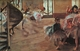 Art - Oil Paintings - Masterpiece #4035 - Edgar Degas - The Rehearsal - Gallery Quality