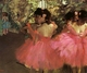 Art - Oil Paintings - Masterpiece #4036 - Edgar Degas - Dancers in Pink_f - Gallery Quality