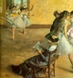 Art - Oil Paintings - Masterpiece #4037 - Edgar Degas - Ballet Class - Gallery Quality