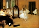 Art - Oil Paintings - Masterpiece #4040 - Edgar Degas - Dance Class - Gallery Quality