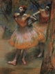 Art - Oil Paintings - Masterpiece #4048 - Edgar Degas - Two Dancers_j - Gallery Quality