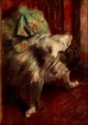 Art - Oil Paintings - Masterpiece #4049 - Edgar Degas - Dancer in Green Tutu - Gallery Quality