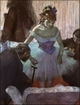 Art - Oil Paintings - Masterpiece #4051 - Edgar Degas - Before the Entrance on Stage - Gallery Quality