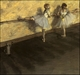 Art - Oil Paintings - Masterpiece #4054 - Edgar Degas - Dancers Practicing at the Barre - Museum Quality