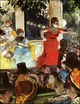 Art - Oil Paintings - Masterpiece #4065 - Edgar Degas - Aix Ambassadeurs - Museum Quality