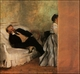 Art - Oil Paintings - Masterpiece #4075 - Edgar Degas - Mr & Mrs Edouard Manet - Gallery Quality
