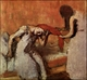 Art - Oil Paintings - Masterpiece #4081 - Edgar Degas - Seated Woman Having her Hair Combed - Gallery Quality