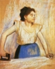 Art - Oil Paintings - Masterpiece #4096 - Edgar Degas - Girl at Ironing Board - Gallery Quality