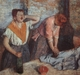 Art - Oil Paintings - Masterpiece #4097 - Edgar Degas - Laundry Maids - Museum Quality