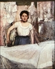 Art - Oil Paintings - Masterpiece #4098 - Edgar Degas - A Woman Ironing - Museum Quality