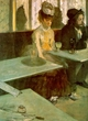 Art - Oil Paintings - Masterpiece #4100 - Edgar Degas - Absinthe Drinker_t - Gallery Quality