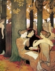 Art - Oil Paintings - Masterpiece #4117 - Maurice Denis - The Muses in the Sacred Wood - Museum Quality