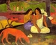 Art - Oil Paintings - Masterpiece #4123 - Paul Gauguin - Making Merry8 - Gallery Quality
