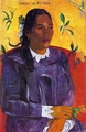 Art - Oil Paintings - Masterpiece #4131 - Paul Gauguin - Vahine No Te Tiare - Museum Quality