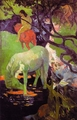Art - Oil Paintings - Masterpiece #4133 - Paul Gauguin - The White Horse r - Gallery Quality