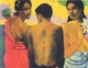 Art - Oil Paintings - Masterpiece #4139 - Paul Gauguin - Three Tahitians - Museum Quality