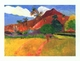 Art - Oil Paintings - Masterpiece #4144 - Paul Gauguin - Tahitian Landscape - Gallery Quality