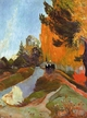 Art - Oil Paintings - Masterpiece #4147 - Paul Gauguin - The Alyscamps at Arles - Museum Quality